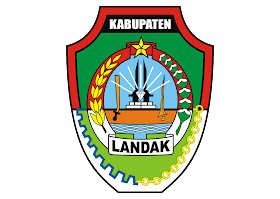 Kabupaten Landak Logo Vector download free