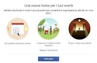 """Novità prossime nella sezione """"eventi"""" di Facebook"""