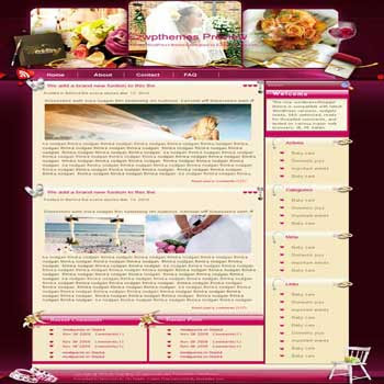 Say You Do blogger template. free blogspot template download. wedding blog blogger template