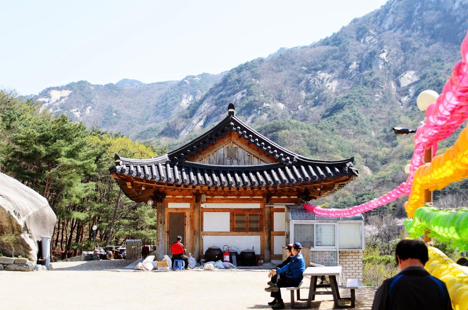 Korean Temples Bukanhansan