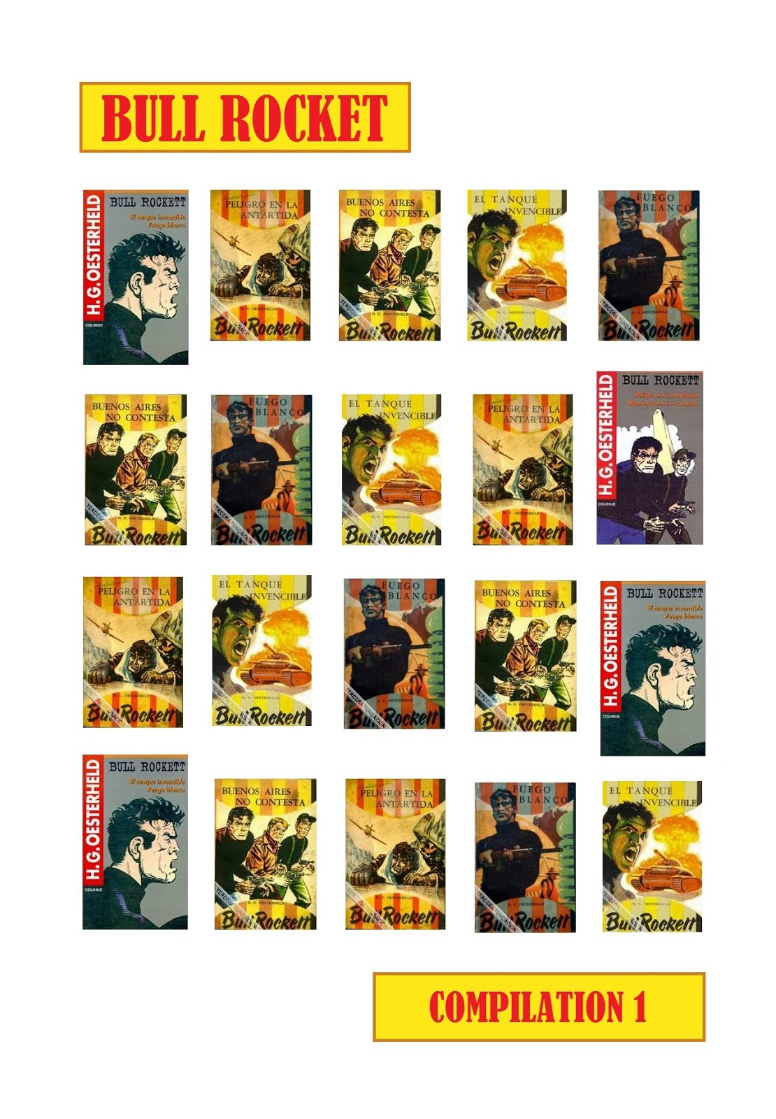 BULL ROCKET dans BLEK (1963-1964) - Compilation de JAWAD