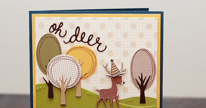 Vk create mct made in minutes oh deer birthday card bookmarktalkfo Image collections