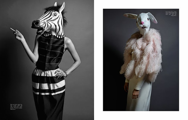 Fashion Photography,Zebra, Photography, Magazine Editorial