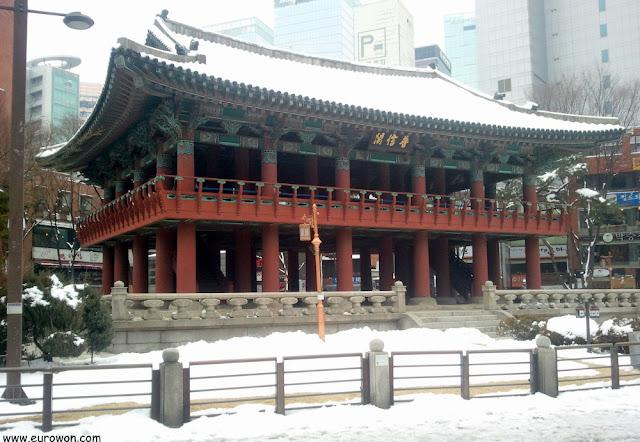 Campanario Bosingak de Seúl