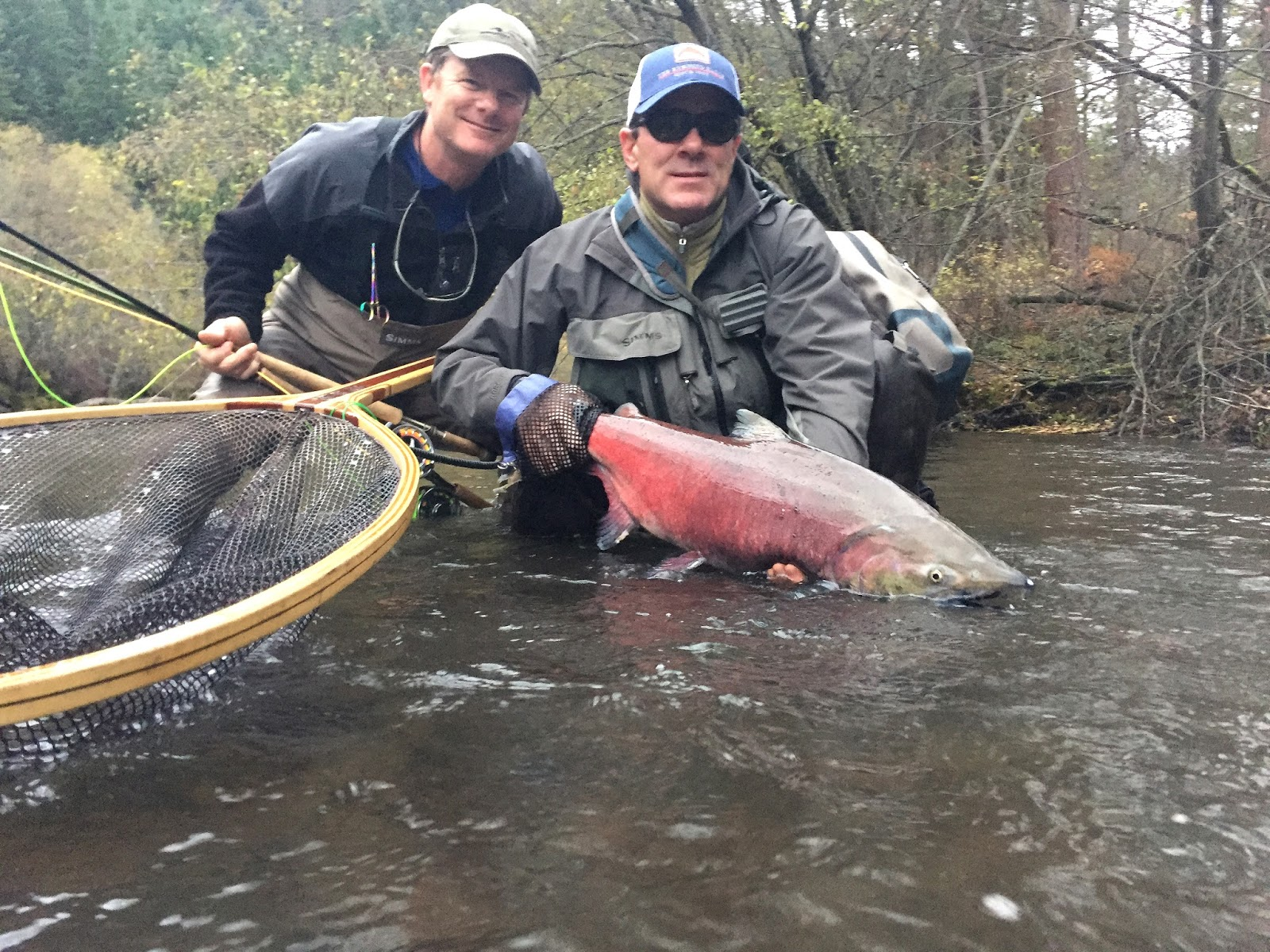 The evening hatch reports klickitat river report 11 15 15 for Klickitat river fishing report