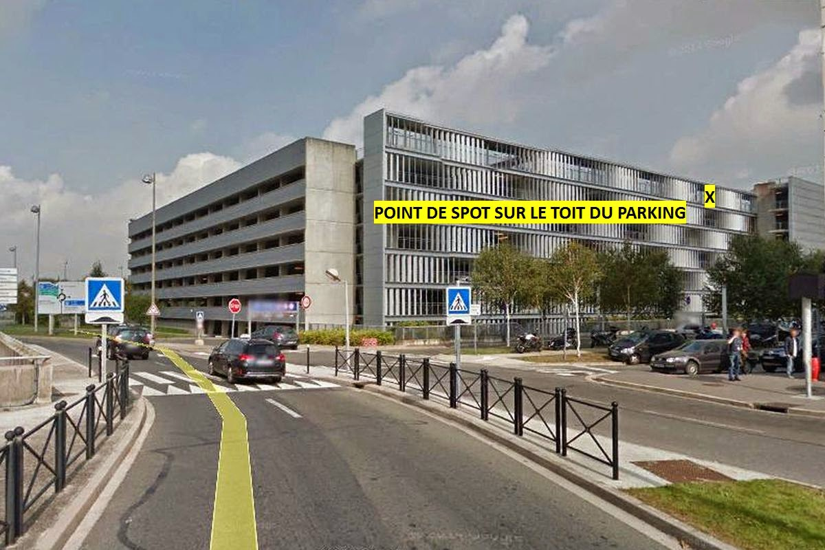 Aeroport de paris roissy cdg point 8 for Parking exterieur paris