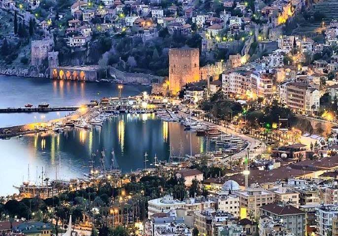Antalya city, Turkiye