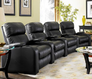 Headliner Leather Home Theater Seats from TheaterSeatStore.com