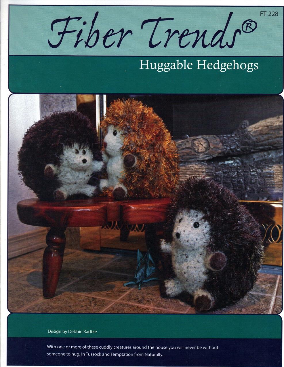 Huggable Hedgehog Knitting Pattern : Mels Daisy Patch Crochet and Crafts: Fiber Trends Pattern ...