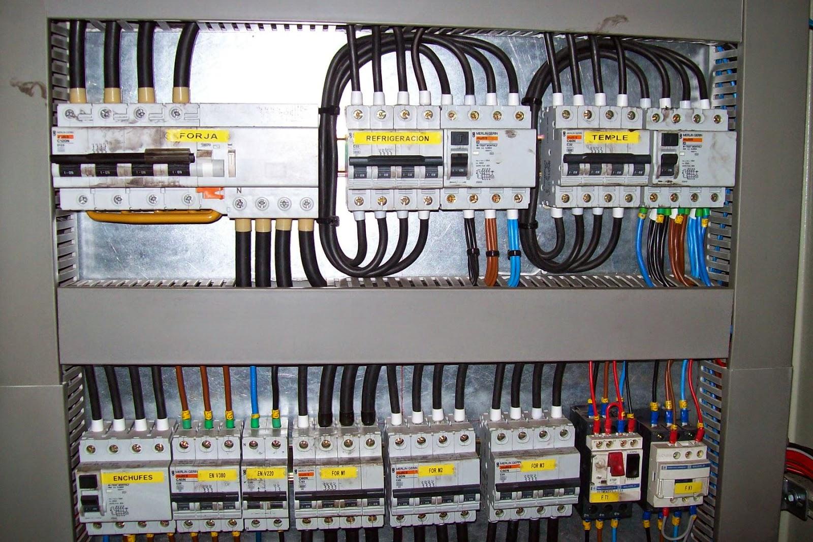 Reparaci n de cuadros el ctricos electricista palencia for Como montar un cuadro electrico