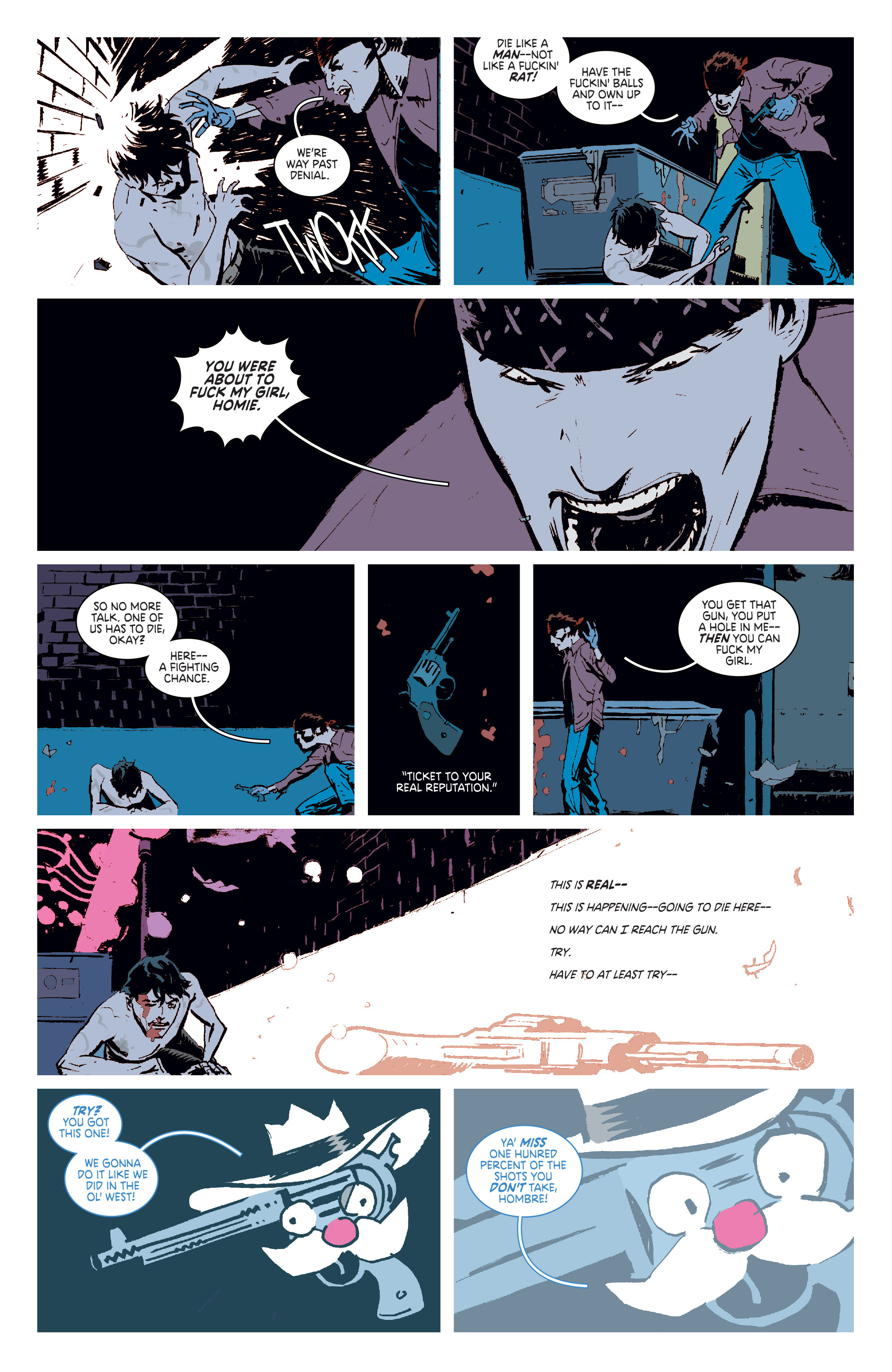 Read online Deadly Class comic -  Issue #6 - 8