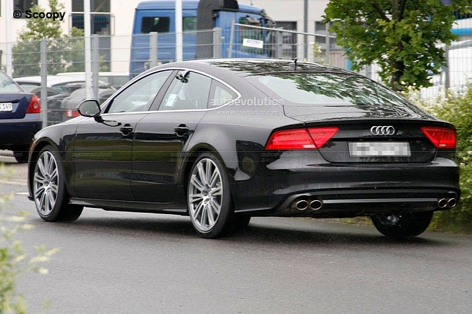2012 2013 audi a7 sportback spy photos without camouflage car. Black Bedroom Furniture Sets. Home Design Ideas