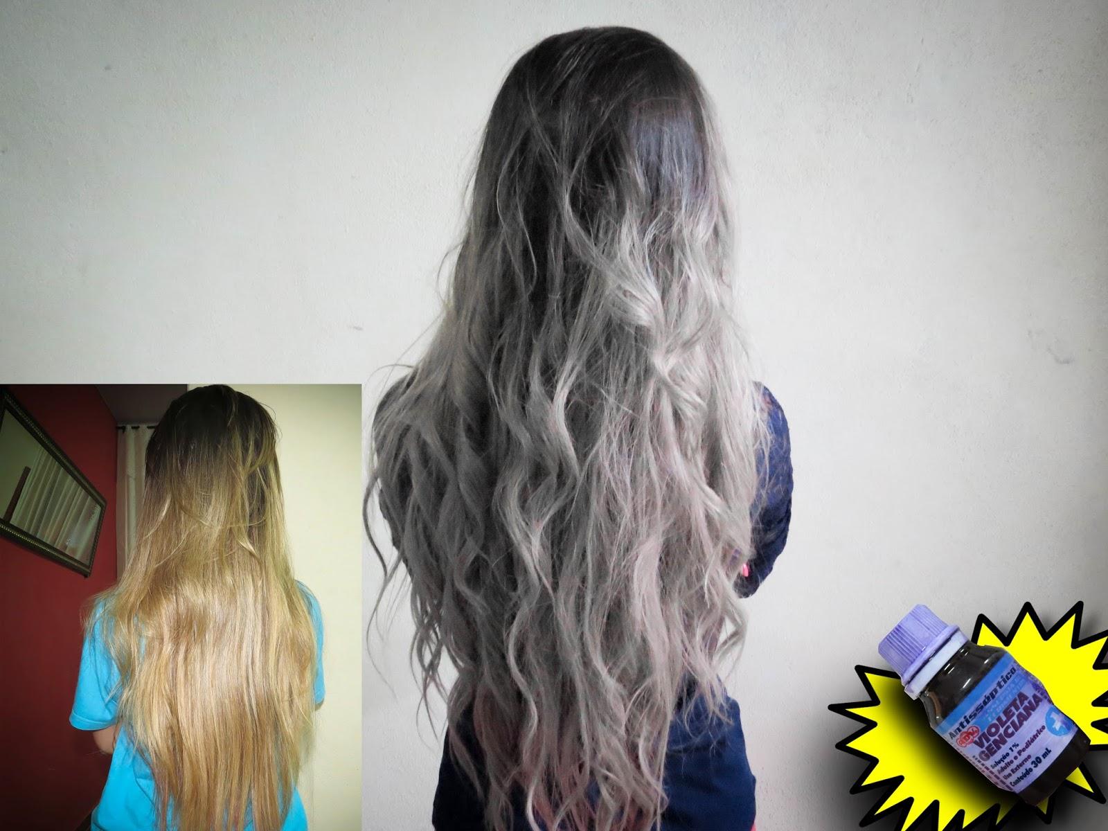 Conhecido ♥ Rayssa Rezende ♥: Como platinar o cabelo com Violeta Genciana BV05