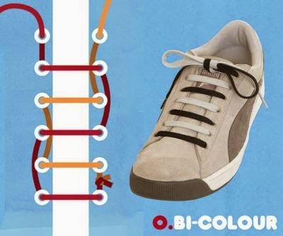 Keren! 14 Cara Unik & Kreatif Mengikat Tali Sepatu