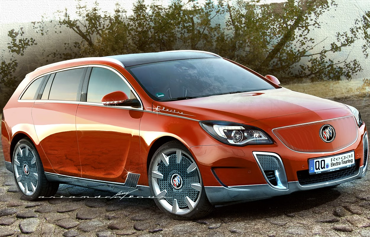 Casey artandcolour cars february 2012 -  Electra Becomes Buick S Plug In Series Moniker