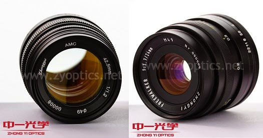 zhongyi 24mm 42mm e-mount photokina