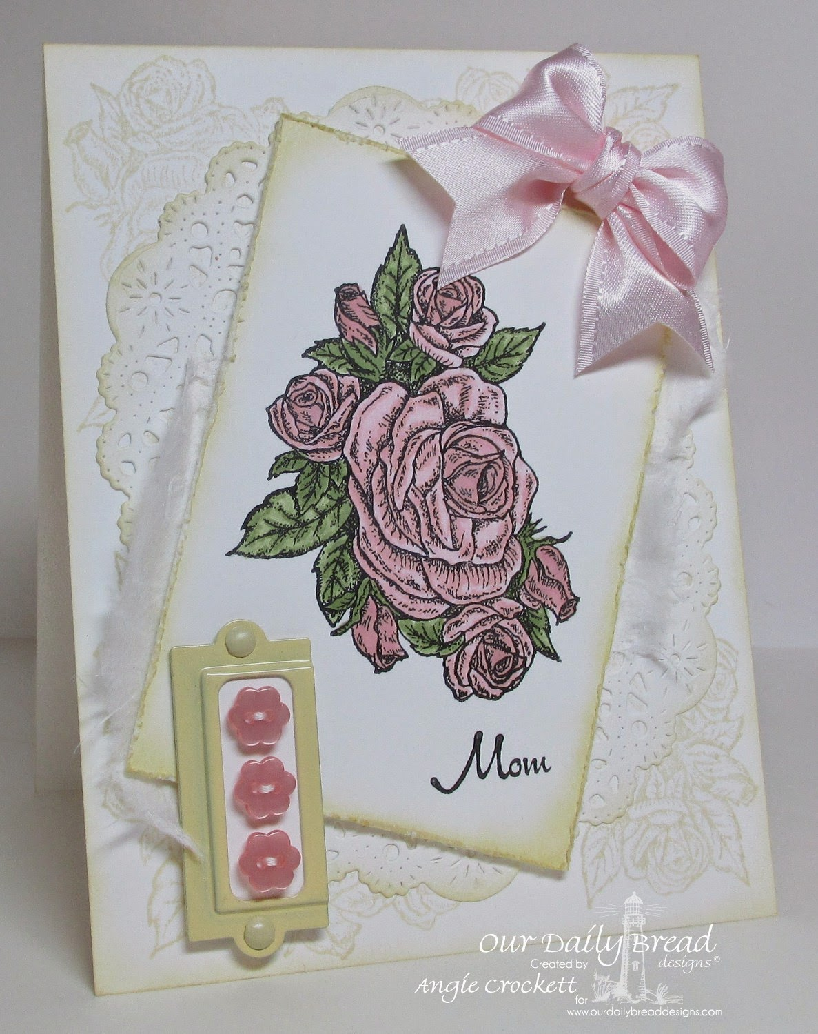 ODBD Smell The Roses, Card Designer Angie Crockett