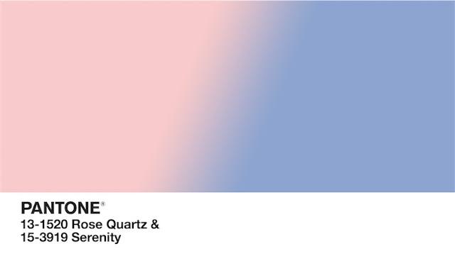 interiores decorados con los colores del año 2016 de Pantone rosa  cuarzo y azul serenity chicanddeco