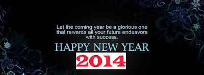 New Facebook Covers of Happy New Year 2014