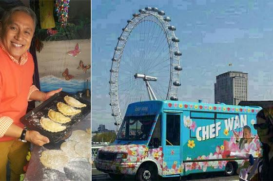 Malaysia, Hiburan, Artis Malaysia, Selebriti, Chef Malaysia, Dato Chef Wan, Muncul, Dalam, Program, Fox TV, East Bites West