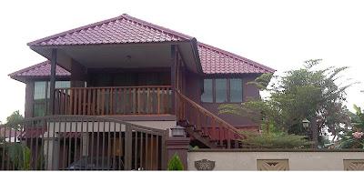Rumah Konsep Moden Tradisional