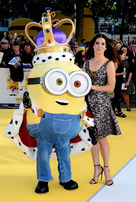 Sandra Bullock in Stella McCartney at the 'Minions' World Premiere in London