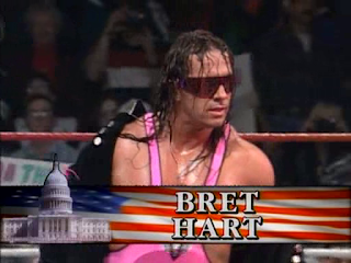 WWF / WWE SURVIVOR SERIES 95 - Bret Hart beat Diesel for the WWF title