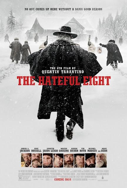 Póster oficial y primer anuncio de 'The Hateful Eight'