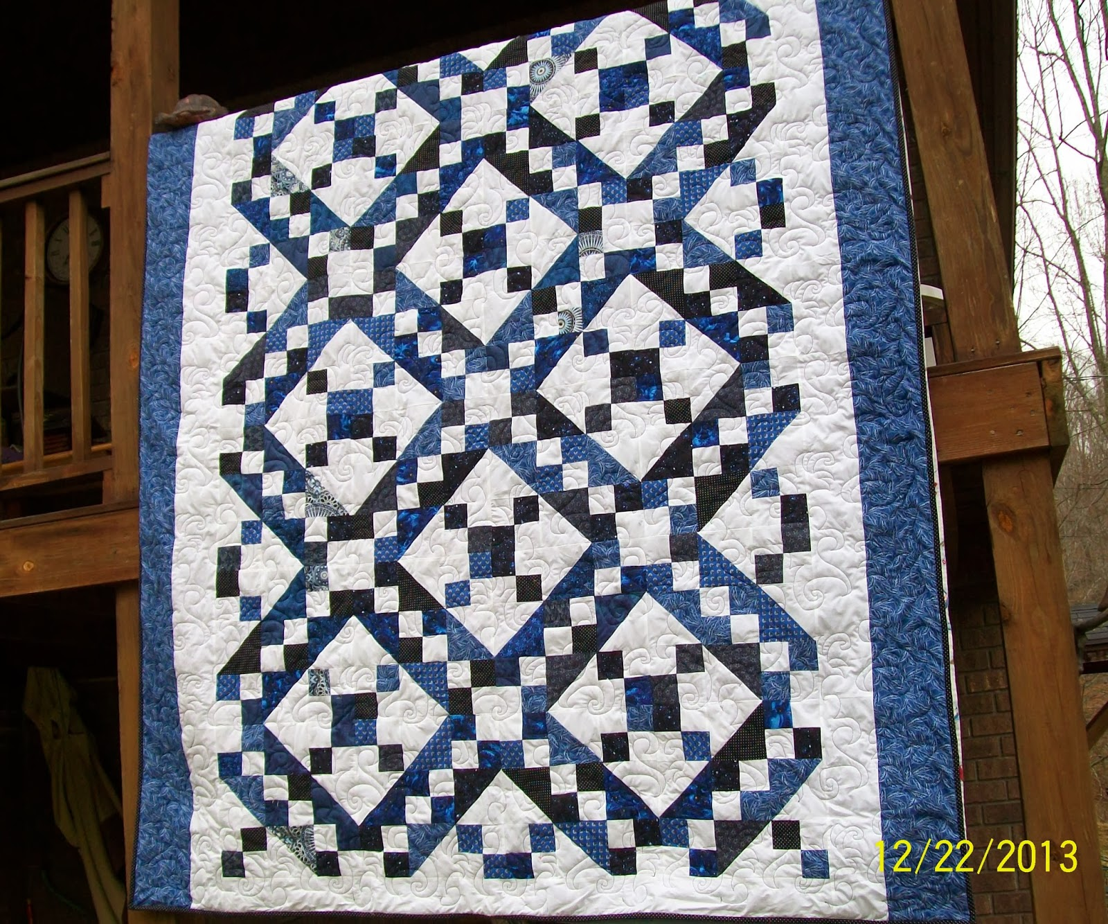 Free Quilt Pattern For Jacob S Ladder : Sew Much More: Jacob s Ladder Quilt