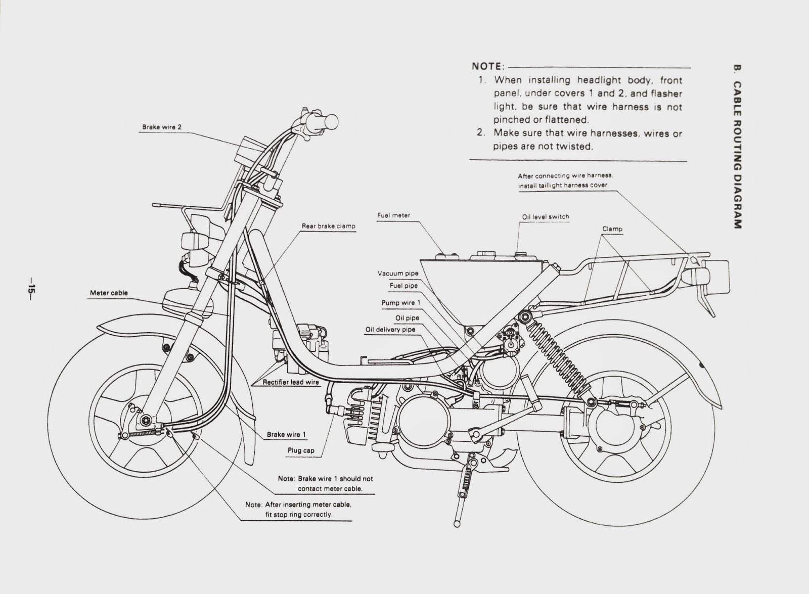 yamaha lc50 yamaha lc50 service manual yamaha parts diagram lc 50 service manual in jpg format