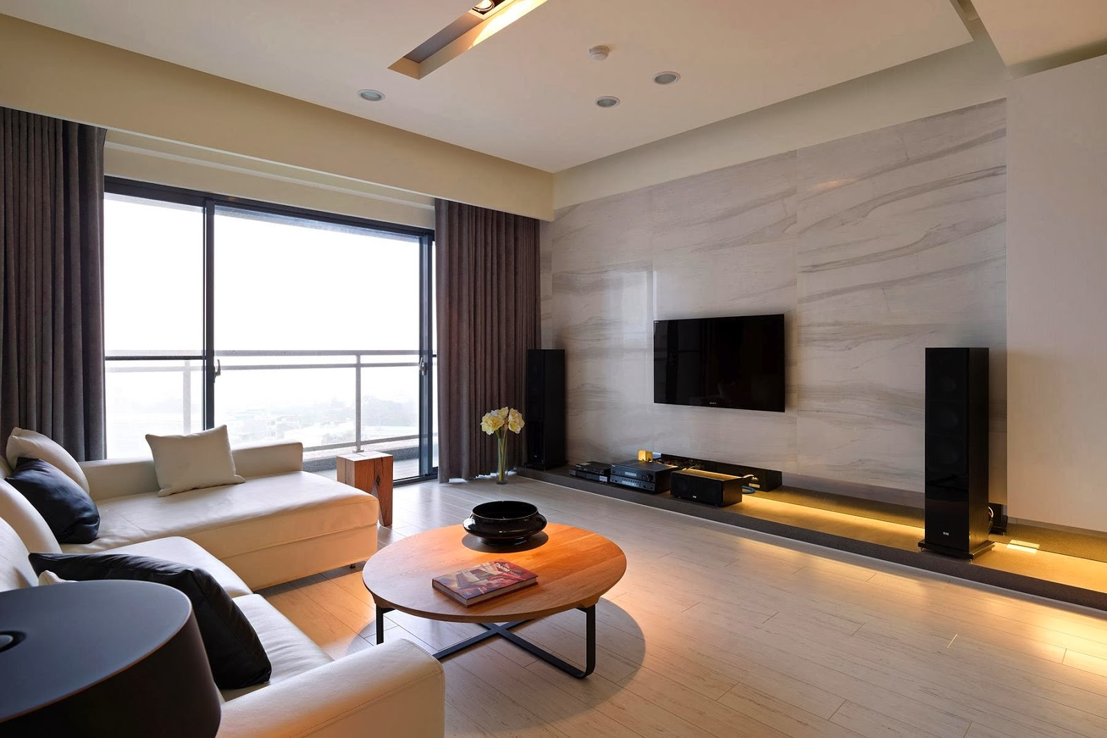 Modern Entertainment With TV Unit