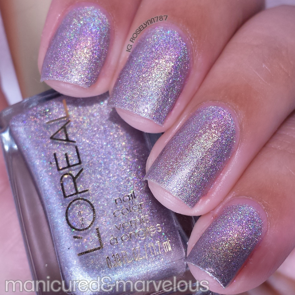 L\'Oreal - Masked Affair Swatches - Manicured & Marvelous
