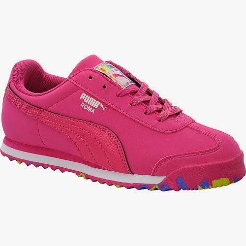 PUMA Girls' Roma SL NBK Speckled Training Shoes