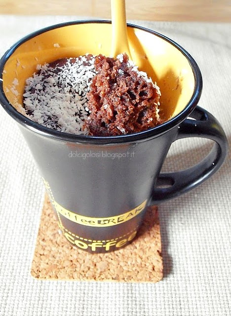 Dolci golosità: Torta in tazza...mug cake