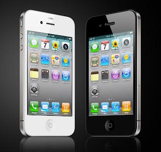 Iphone 4 musta ja valkoinen