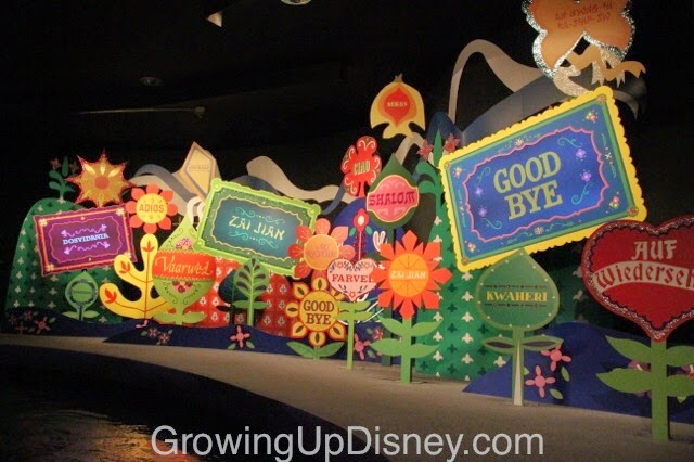 it's a small world, magic kingdom, walt disney world, goodbye scene