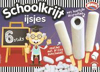 Schoolkrijt ijsjes