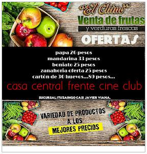 CONSUMA FRUTAS & VERDURAS