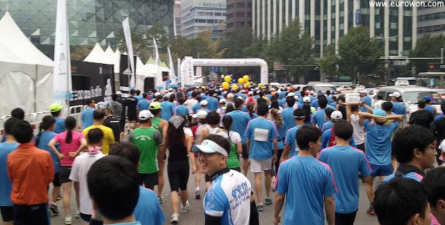 Comenzando la carrera HiSeoul 2012