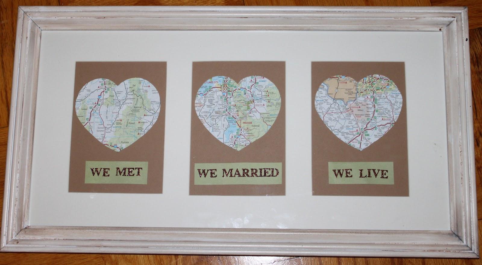 We met we married we live