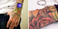 Implant Magnets in Arm for iPod NANO