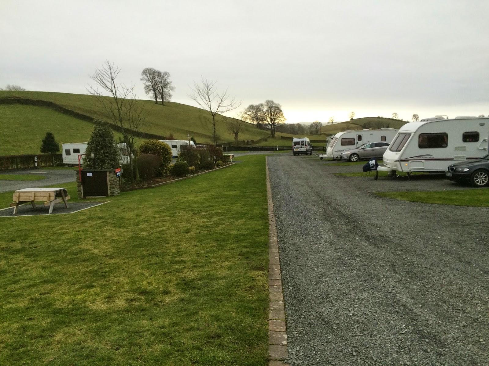 ashes exclusively caravan park hit the road pat