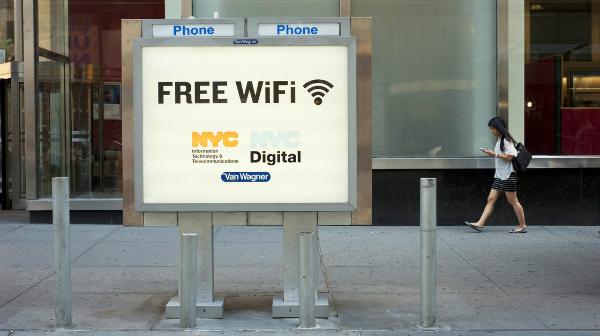 تطبيق فكرة رائدة للحصول على الواي فاي المجاني في الشوارع