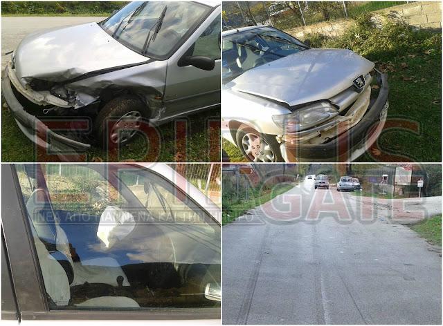 Τροχαίο ατύχημα στην διασταύρωση Φοινικίου στο Φιλιάτι Θεσπρωτίας