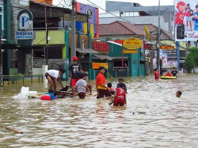 Sebagian Banjir Jakarta Telah Surut