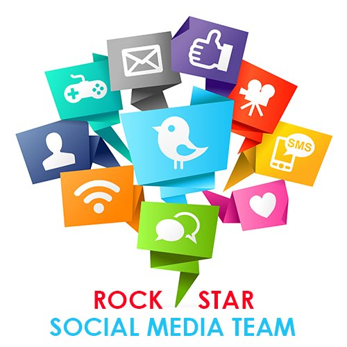 Rock Star Social Media Team