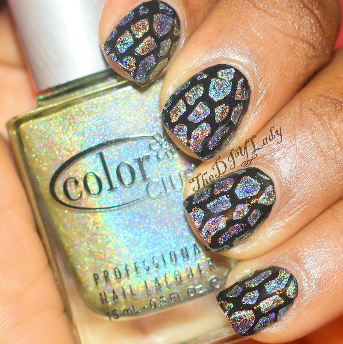 The Do It Yourself Lady: Nail Art with Color Club - Kismet