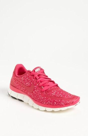 Pink Animal Print Nike Running Shoes