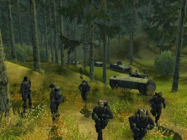 لعبة الحرب والأكشن Soldner Secret Wars