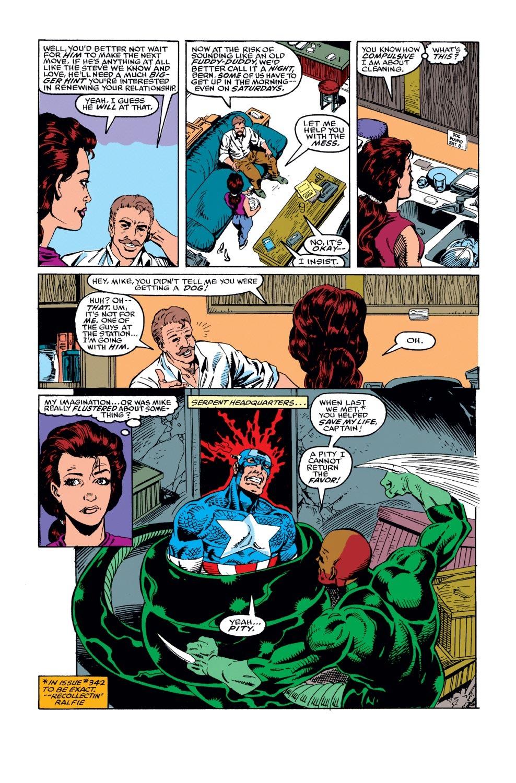 Captain America (1968) Issue #382 #315 - English 11